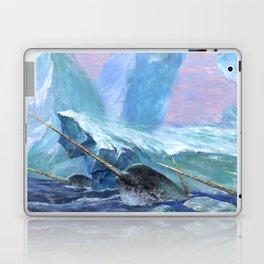 Narwhals at Play Laptop & iPad Skin