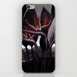 Birds of Paradise : Temple of Flora Dark iPhone Skin