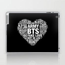 BTS ARMY Fan Art : Typography Laptop & iPad Skin