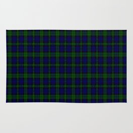 "CAMPBELL CLAN  ""BLACK WATCH"" SCOTTISH  KILTS TARTAN DESIGN Rug"