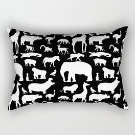 African Fauna Rectangular Pillow
