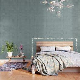 Butterfly Semi-Plaid Wallpaper