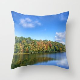 By the lake 2 Throw Pillow