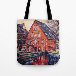 European winter Tote Bag