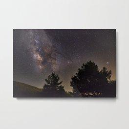 Milkyway at the mountains. Saggitarius Antares and Rho Ophiuchus Metal Print