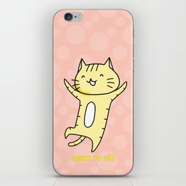 NEKO-O iPhone Skin
