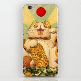 Cash Money iPhone Skin