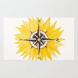 Compass  Sunflower Rug