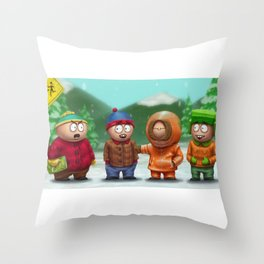 SP Boys Throw Pillow