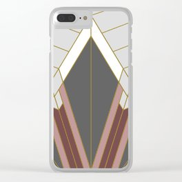 ART DECO G1 (abstract) Clear iPhone Case