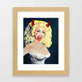Dolly Parton (serie) Framed Art Print
