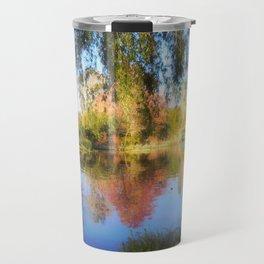 Dreamy Water Garden Travel Mug