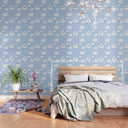 Blue Clouds Wallpaper