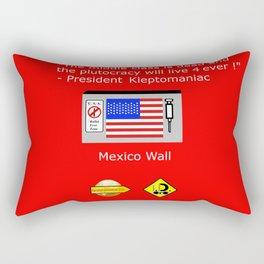 Plutocracy 4 ever Rectangular Pillow