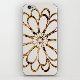 Floral Design Ornament iPhone Skin