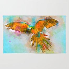 High as a Macaw Rug