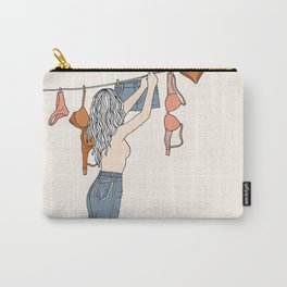 Girl Next Door Carry-All Pouch
