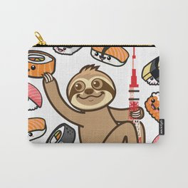 Sloth Sushi Tokyo Carry-All Pouch