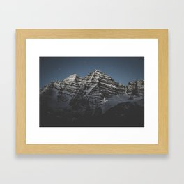Bells and Stars Framed Art Print