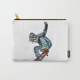 Skateboarder Carry-All Pouch
