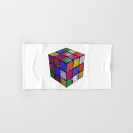 The color cube Hand & Bath Towel