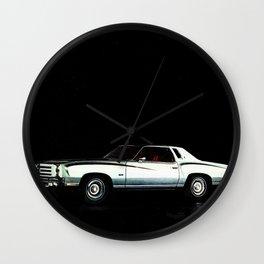 1976 Chevrolet Monte Carlo Wall Clock