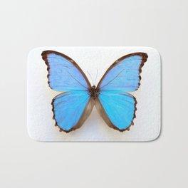 Blue Morpho Butterfly Bath Mat