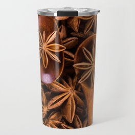 passion for food and eating - star anise Travel Mug