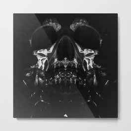 AfterTaste - The Skull Print Metal Print