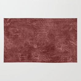 Marsala Oil Painting Color Accent Rug