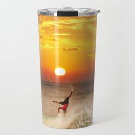 The Art Of Surfing In Hawaii 10 Travel Mug