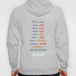 Think About Such Things . . . Hoody