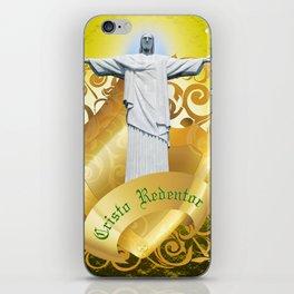 The Cristo Redentor iPhone Skin