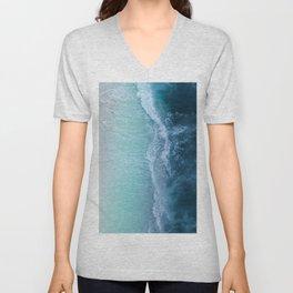 Turquoise Sea Unisex V-Neck