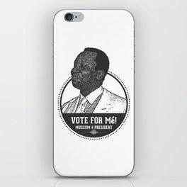 Mussum 4 President iPhone Skin