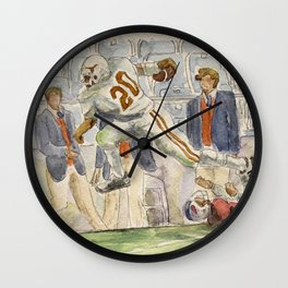 Earl Campbell Runningback Football Wall Clock