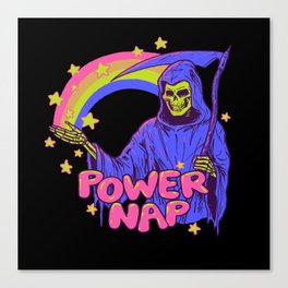 Power Nap Canvas Print
