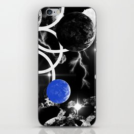 Finally abailable! . Galaxie print for your fashion mood. iPhone Skin