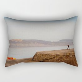 Alone but not Lonely Rectangular Pillow