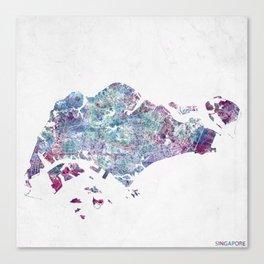Singapore Canvas Print