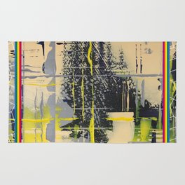 Sunday Morning - colour frame Rug