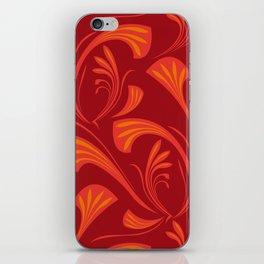 Art Nouveau Fans iPhone Skin