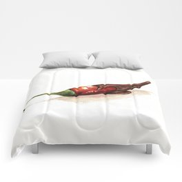 Chocolate Covered Pepper Comforters