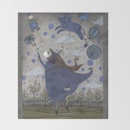 Violetta Dreaming Throw Blanket