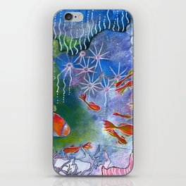 Underwater life iPhone Skin