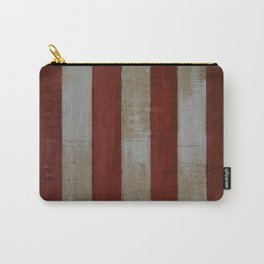 Wood Stripes Carry-All Pouch