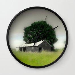 An Aussie Barn Wall Clock