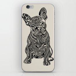 Polynesian  Frenchie iPhone Skin