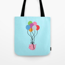 Pigs Can Fly Tote Bag