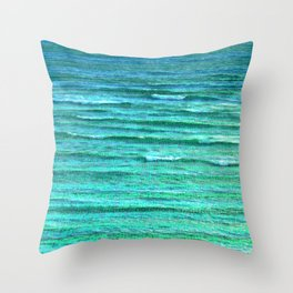 Sea of Indifference Throw Pillow